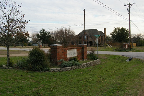Suburban Estates Entrance