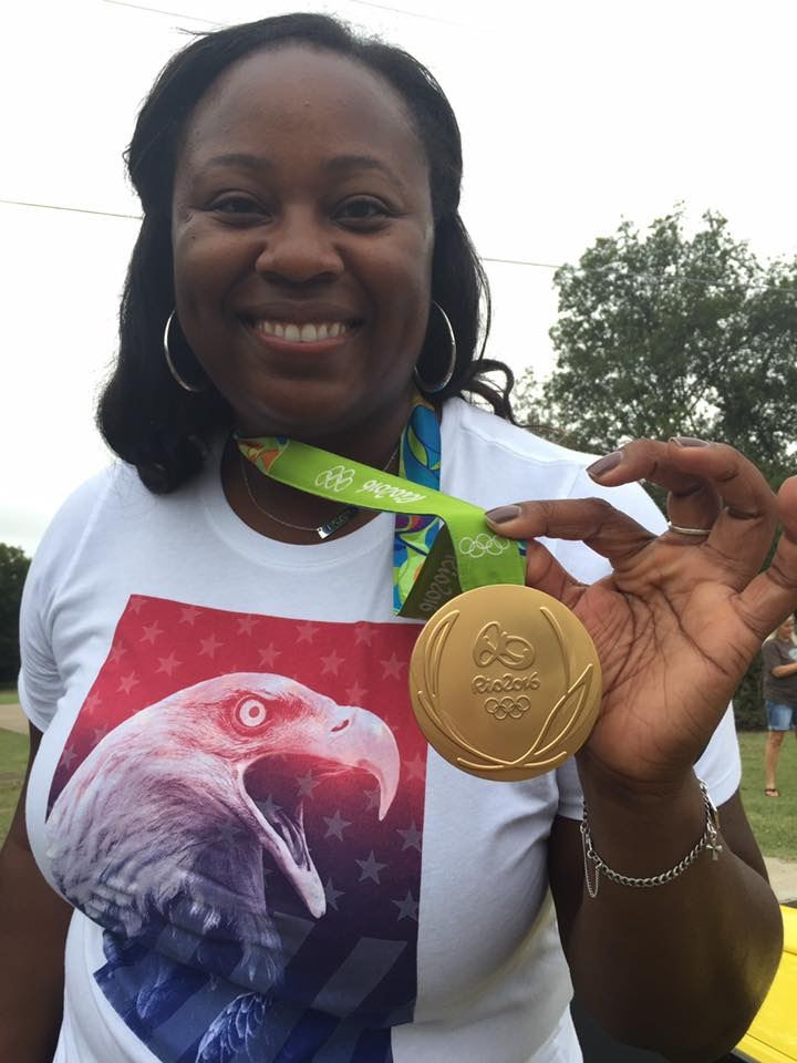 Michelle Carter - 2016 Olympic Gold Medal Winner in shot-put!